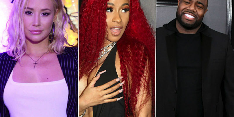 Iggy Azalea Accused of Ripping Off Cardi B, Producer J
